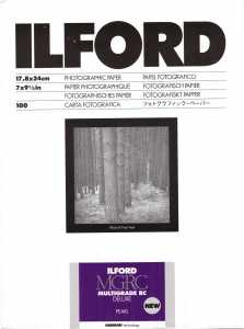 ILFORD MG V Deluxe 18x24/100  pearl