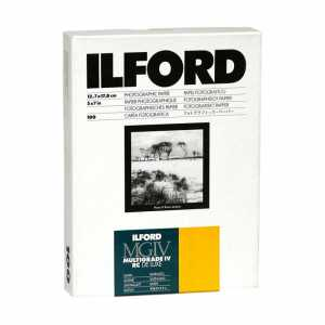 ILFORD MG IV Deluxe  9x13/100 25 M Satyna
