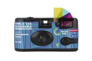 Aparat Lomography SIMPLE USE LomoChrome Purple,