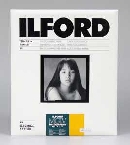 ILFORD MG IV Deluxe 18x24/25 25M (satyna)