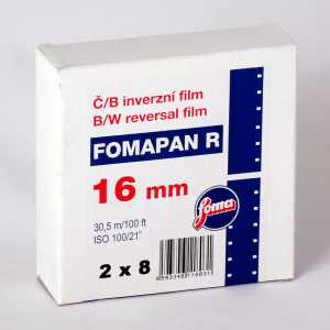FOMAPAN R 100 Film 2x8 mm/30,5 m