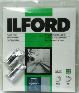 ILFORD MG IV Deluxe 18x24/25  44 M + 2 HP 5 400/36