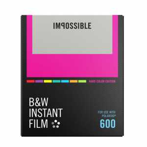 IMPOSSIBLE 600 B&W Hard Color Edition