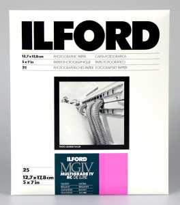 ILFORD MG IV Deluxe 13x18/25 1M (błysk)